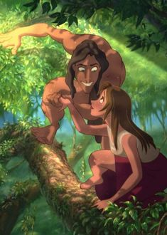 Tarzan one of my favorite disney movies Walt Disney Animation, Animation Film, Disney Films, Disney And Dreamworks, Disney Pixar, Disney Characters, Disney Icons, Disney Dream, Disney Magic
