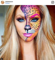 Lisa Frank might be making its return this Halloween—thanks to these colorful makeup looks that are taking us right back to the 90s.