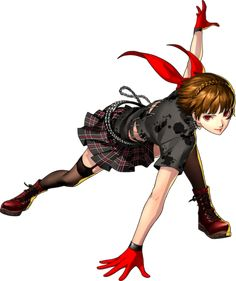 Makoto's official Dancing Star Night outfit by Shigenori Soejima