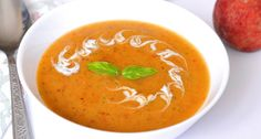 Főzés nélküli őszibarackleves recept Hungarian Recipes, Hungarian Food, Fruits And Vegetables, Thai Red Curry, Vegan Recipes, Vegan Food, Dishes, Ethnic Recipes, Chowders