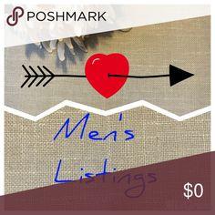 Men's Listings here 👉🏼 🤠🤠 Men's Listings found below! Other