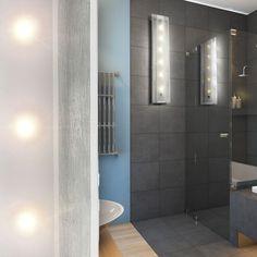 LED ALU Bad Lampe Wand Wohnzimmer 6 W Flur Design Bro Beleuchtung IP22 EEK A In