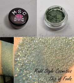 Swatch Post! Madd Style Cosmetics : Seedless, Ship of Fools, Nana's Tea Party, and xRay Spex! - Indie Know
