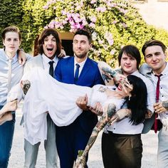 Bring Me The Horizon and Hannah Sykes>> This is really awesome>> god im so happy for them Oli and Hannah are perfect for eachother <3