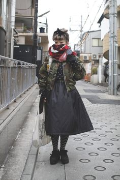 [Street Style] りりあん | Prismic Prism | Harajuku (Tokyo) « DROPTOKYO