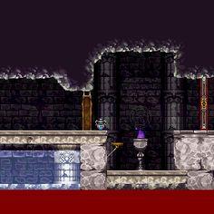 Entrance - Castlevania: Symphony of the Night - Game Oracle Deixadilson
