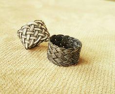 Turkish Knot Kazaziye rings yüzük silver gümüş handmade