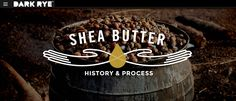 The History And Benefits Of Natural Shea Butter, Elixir of Cleopatra · #SheaButter #Skincare #Organic #Cosmetics #DarkRye #Africa