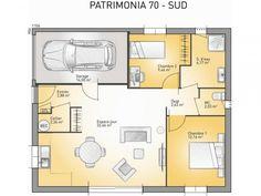 Plan De Maison Patrimonia 70 P : Vignette 1