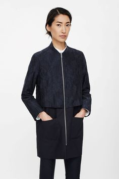 Textured layer jacket
