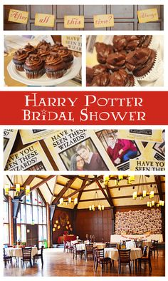 harry potter bridal shower.. just for fun.. totally not seriously wanting this... totally..