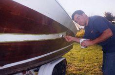 How to Paint a Fiberglass Boat Hull #stepbystep