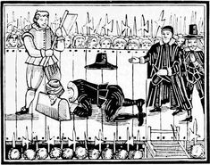 EXECUTION OF CHARLES I., 1649.