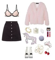 """""""Sem título #783"""" by gabeeinthesky ❤ liked on Polyvore featuring Innocence, Aubin & Wills, Chanel, TIARA, NARS Cosmetics and adidas Originals"""
