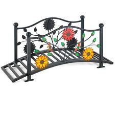 Have To Have It. Coral Coast Willow Creek 8 Ft. Metal Garden Bridge    $433.98 @hayneedle | Outdoor Furniture | Pinterest