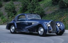 Delage D8 Coupe: The Parisian manufacturers fitted different elegant bodies over the perio...