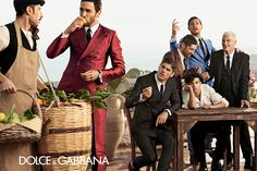 dolce and gabbana ss 2014 mens advertising campaign 02