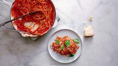 How To Make Bucatini Al Pomodoro