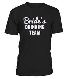Bride drinking team