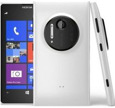 582034a84b02 Nokia Lumia 1020 - 32GB - Dual Core Windows 8 Smartphone - Matte White (AT T