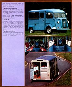 Citroën H-van brochure 1973 | Flickr: Intercambio de fotos
