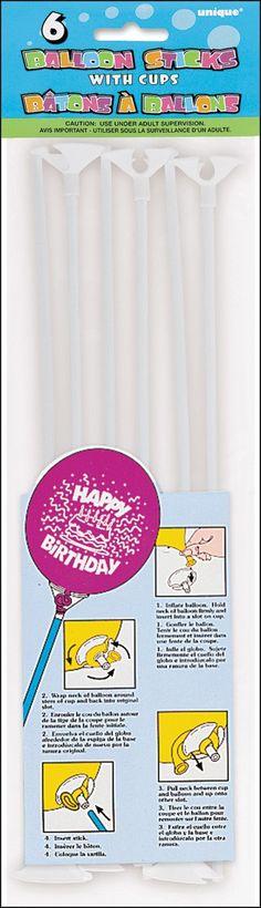 put balloons on a stick!  make a bouquet,