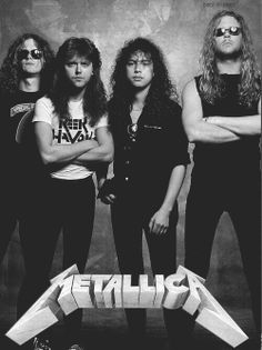 Old school long haired Metallica
