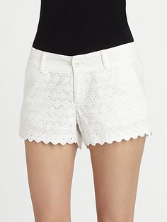 Lilly Pulitzer Walsh Shorts so cute for the honeymoon.