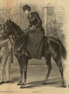 histoire de l'équitation : amazone choix ou obligation - Page 4