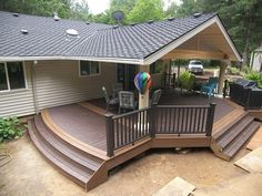 Backyard Covered Patios And Decks   Bing Images
