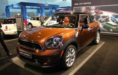 """The Mini's catchphrase at the LA Auto Show this year is """"Not Normal"""". This 2013 Mini Cooper S Paceman in Brilliant Copper is far from normal. Can you say """"Copper Cooper"""" three times fast? Me neither."""