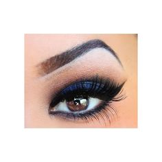 As requested Smokey blue eyeshadow ❤ liked on Polyvore featuring beauty products, makeup, eye makeup and eyeshadow