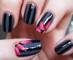 Easy Nail Designs - 50 Easy Nail Designs  <3 <3