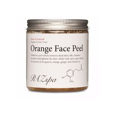 Raz Spa Orange Face Peel - 200mg ($42) ❤ liked on Polyvore featuring beauty products, skincare, face care and face cleansers