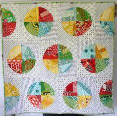 Castoffs Quilt | Flickr - Photo Sharing!  NO pattern