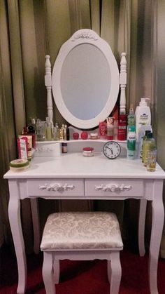 Vanity, Furniture, Home Decor, Lowboy, Home Decoration, Vanity Area, Homemade Home Decor, Dressing Tables, Home Furnishings