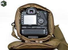 Hazard 4 Wedge DSLR Case, tactical photography gear, tactical gear, tactical camera bags, airsoft obsessed, tom harris, tominator, dave baks,