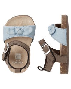 Carter's Knot Bow Crib Sandals from Carters.com. Shop clothing & accessories from a trusted name in kids, toddlers, and baby clothes.