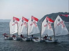 Singapore Optimist Sailing team