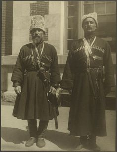 Ellis Island Russian Cossacks. ca.1906-1914