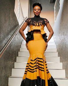 afrikanische hochzeiten The 25 Best African Xhosa Dress With Lace Zulu Traditional Attire, Traditional Dresses Designs, African Traditional Wedding Dress, Traditional Fashion, Traditional Outfits, Modern Traditional, African Wedding Attire, African Attire, African Wear