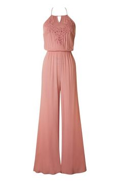 9ca965caab3b Out Of My Kloset Boutique - Dusty Pink Halter Top Jumpsuit