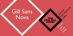 Font dňa – Gill Sans Nova