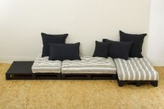 1000 images about coussins de sol on pinterest design for Mah jong modular sofa knock off