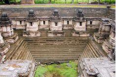 Hoysala stepped temple tank (Kalyani) at Hulikere, Karnataka