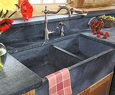 Soapstone Vessel Sink : Carved stone sinks on Pinterest Soapstone, Vessel Sink and Sinks