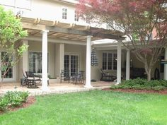 archadeck of greensboro winston salem wooden rafter pergola with ...