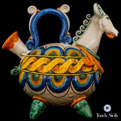 Italian Potttery - Please see our selection of beautiful hand-made artisan ceramics from the Sicily! Thank you!