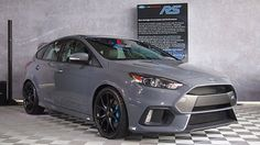 Focus Rs, Ford Focus, Ford Sport, Center Of Excellence, Forged Wheels, Ford Motor Company, Old Cars, Tuner Cars, Grey