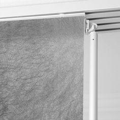 Panneau japonais, Frost argent, H.250 x l.50 cm